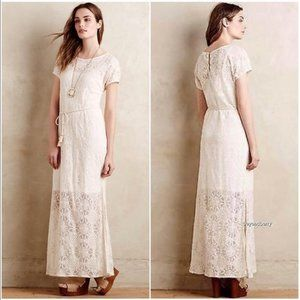 Anthropologie~ Lilka Bellflower Lace Dress